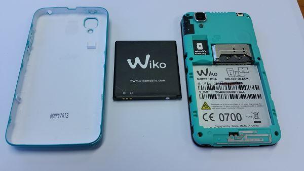 Guide de réparation du Wiko GOA première étape