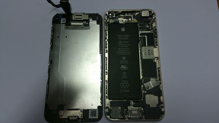 Nappe  5 Démontage complet iPhone 6
