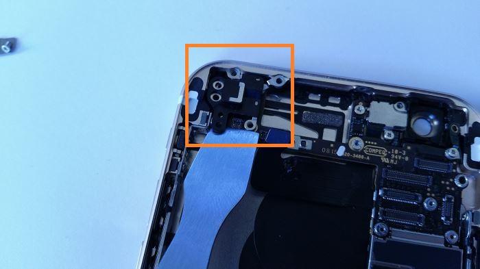 Etape 26 Démontage complet iPhone 6
