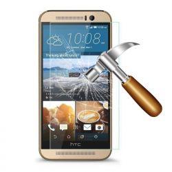 Vitre de protection en verre trempé de très haute qualité pour HTC One M9
