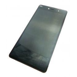 Ecran vitre tactile et LCD assemblés avec châssis pour Wiko PULP FAB 3G