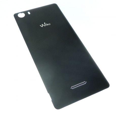 Black battery cover for Wiko Fever 4G