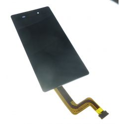 Touch screen and LCD screen assembled without chassis Sony Xperia T3 M50w D5103