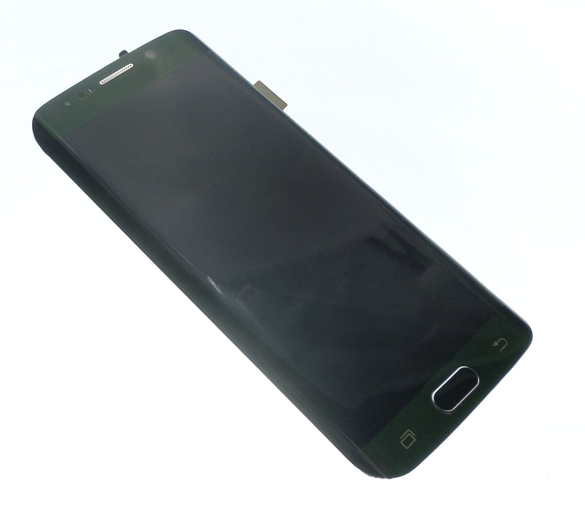 Screen touch glass and assembled LCD green Samsung Galaxy S6 Edge G925F