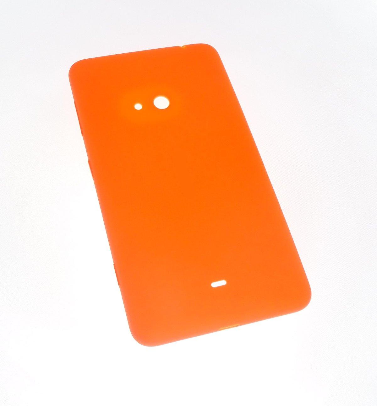 Cache batterie arrière orange pour Nokia Lumia 625