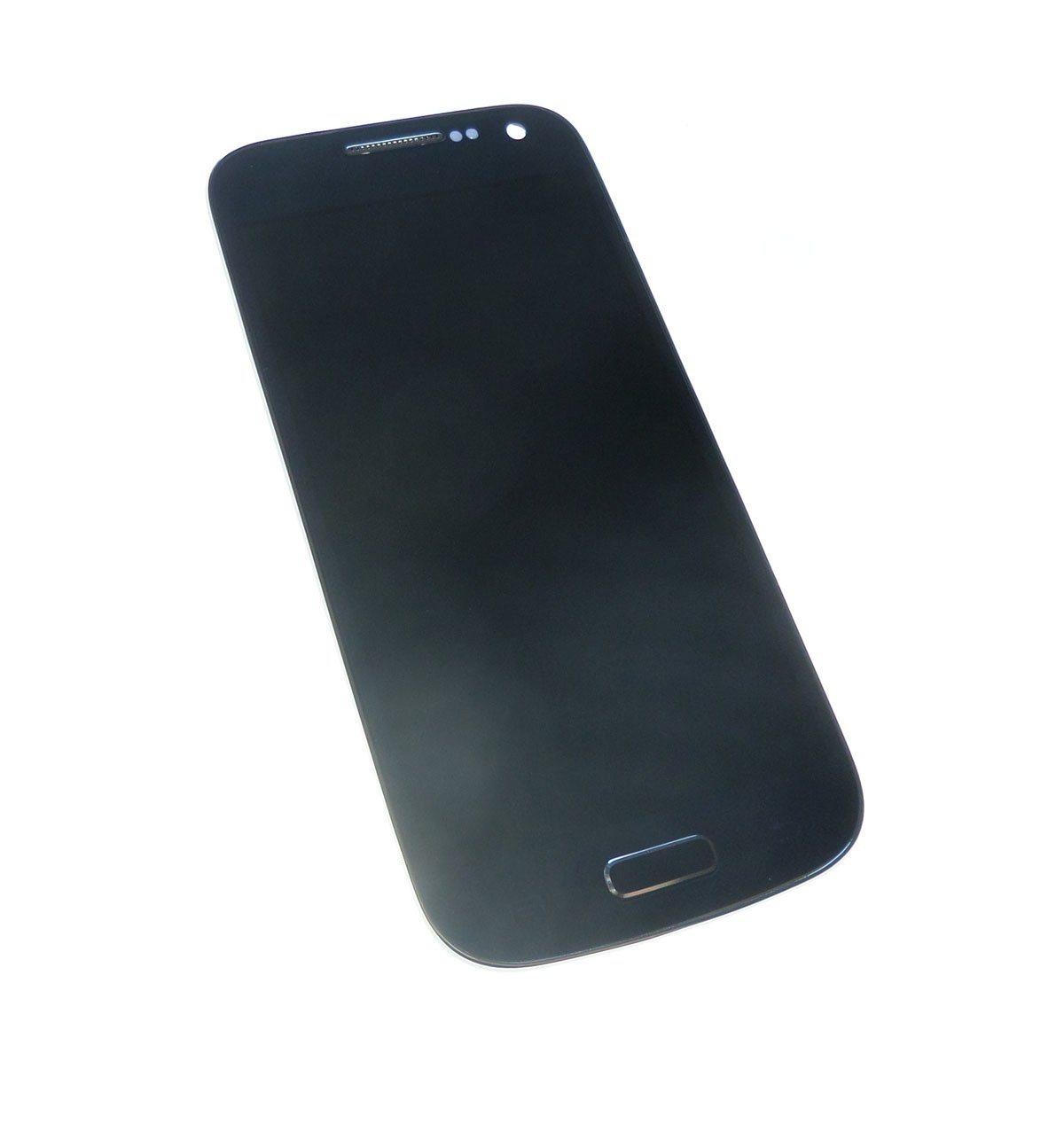 Ecran Lcd et vitre tactile bleu avec châssis Samsung Galaxy S4 mini I9190