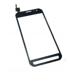 De plata de cristal de la pantalla táctil para Samsung Galaxy Xcover 3 G388F
