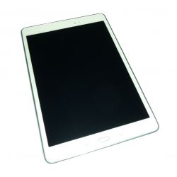 Ecran vitre tactile et LCD assemblés blanc pour Samsung Galaxy TAB A T550