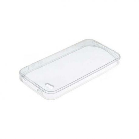 Caja suave del silicón transparente para Apple iPhone 6 y 6S