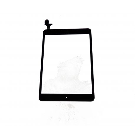 Vitre écran tactile compatible Apple iPad mini avec composant