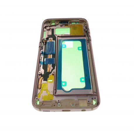 Châssis contour rose pour Samsung Galaxy S7 G930 G930F