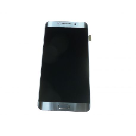 Silver touch screen and LCD glass for Samsung Galaxy S6 Edge more G928C  G928F