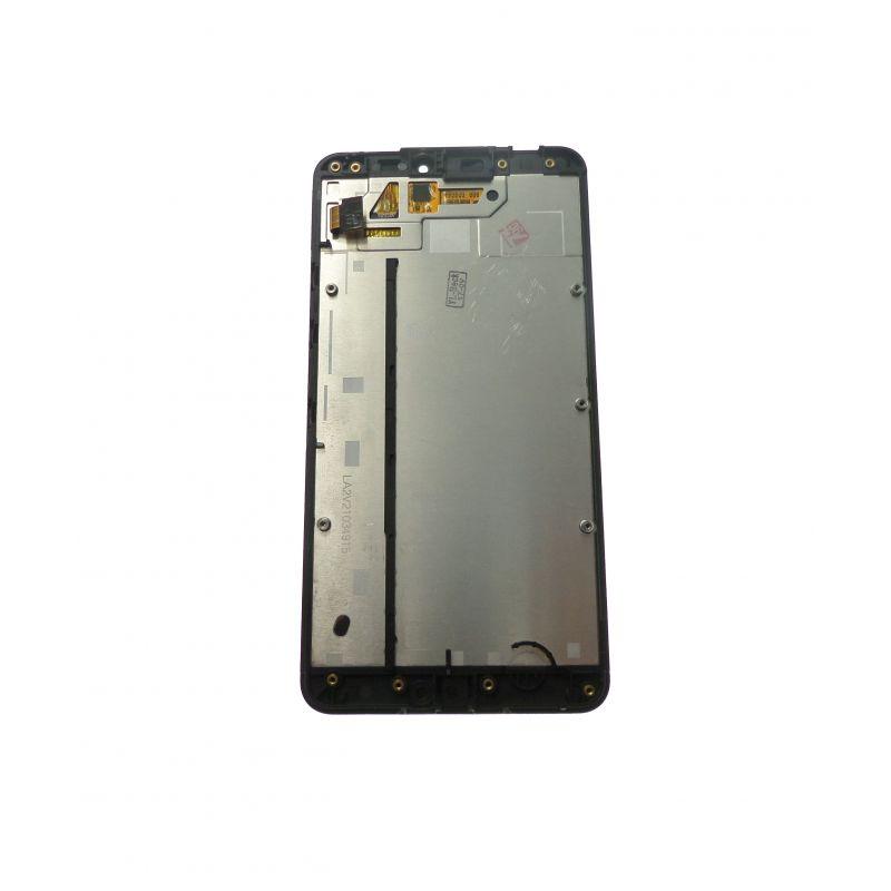 Vitre cran tactile et lcd assembl s noir pour nokia lumia for Photo ecran lumia 640