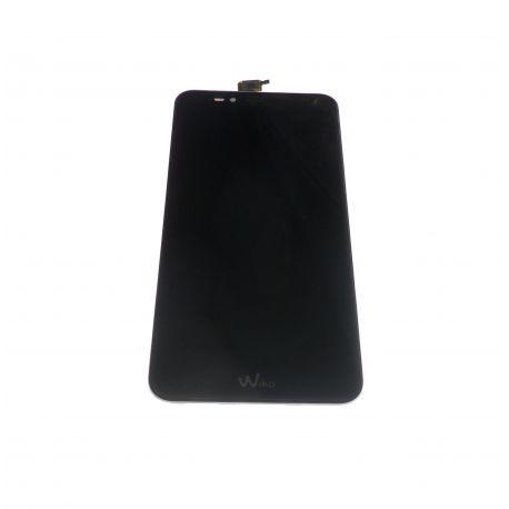 Vitre écran tactile et LCD noir Wiko Upulse
