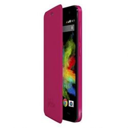 Wiko Folio Case with Stand for Wiko Bloom Fuchsia
