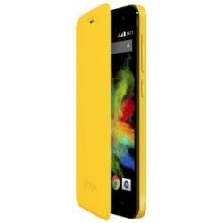 Wiko Folio Case with Stand for Wiko Bloom Yellow