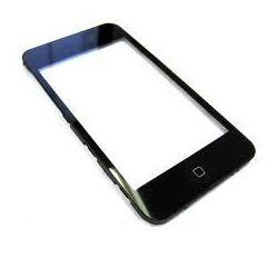 Vitre tactile écran avec chassis Iphone 3GS