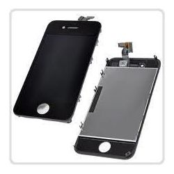 Ecran LCD et vitre tactile pour iPhone 4 noir