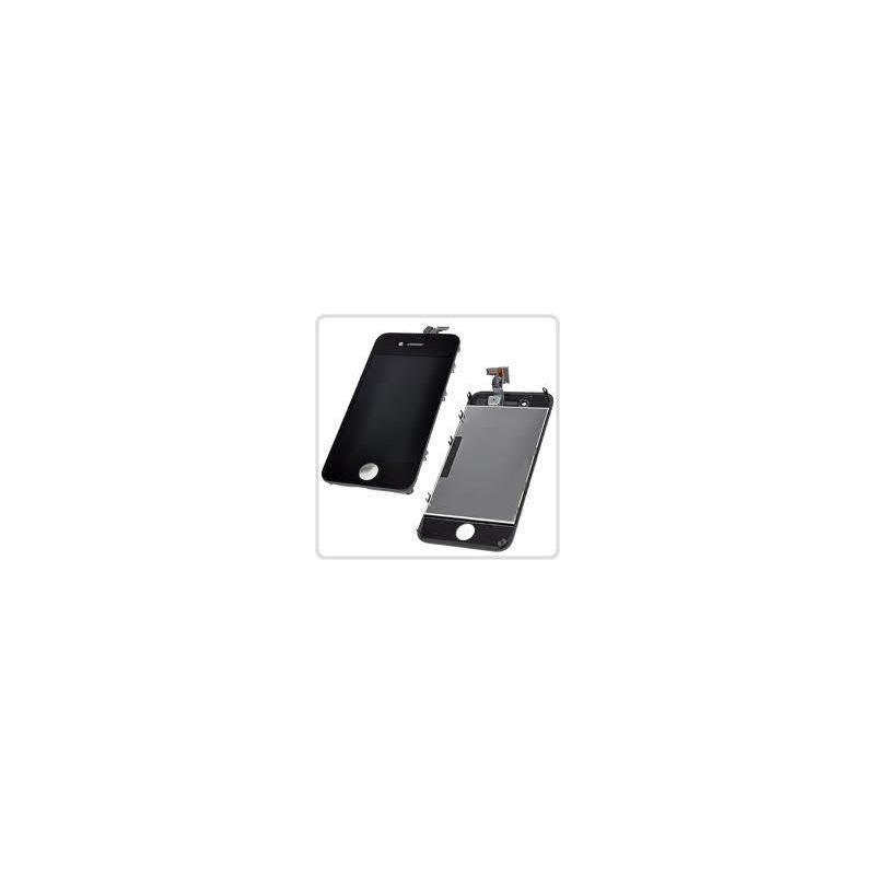 Ecran lcd et vitre tactile iphone 4 noir for Photo ecran iphone 4