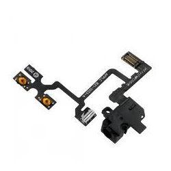 Audio jack and flexible Iphone 4 black