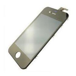 LCD con cristal táctil y el marco de contorno para Iphone 4S