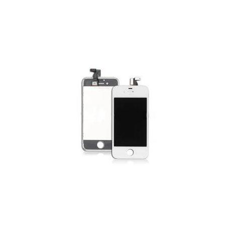 Ecran LCD et vitre tactile Iphone 4 blanc