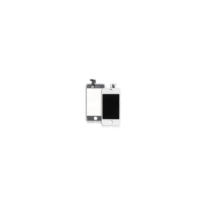 Ecran lcd et vitre tactile iphone 4 blanc for Photo ecran iphone 4