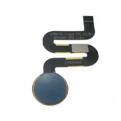 Nappe d'empreinte digitale bleu pour Wiko View Prime V12BN