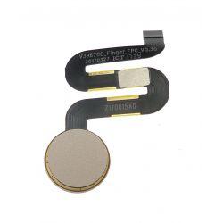 Nappe d'empreinte digitale doré pour Wiko View Prime V12BN