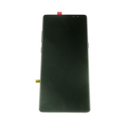 Vitre écran tactile et LCD assemblés noir pour Samsung Galaxy Note 8 N950F