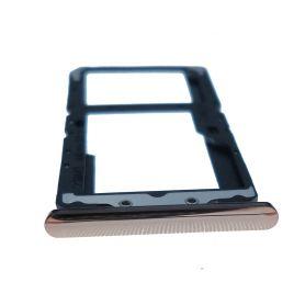 Tiroir SIM gris anthracite pour Wiko View 3 pro W-P611