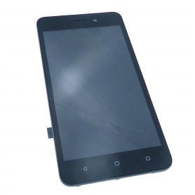 Vitre écran tactile et LCD assemblés noirs pour Wiko Sunny 3 W-K120