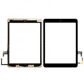 Vitre écran tactile noir pour Apple ipad 9.7 2017 A1822 (wifi) A1823 (4G)