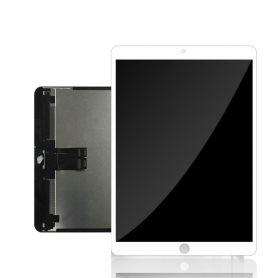 Glass touchscreen and LCD assembled white Apple iPad Pro 10.5 2017 A1701 (wireless) A1709 (4G)