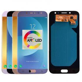 Super Amoled LCD pour Samsung Galaxy J7 Pro 2017 J730 J730F écran LCD et écran tactile numériseur assemblée