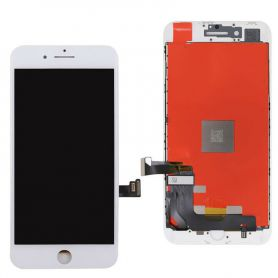 Touch Screen LCD and white iPhone SE 2020