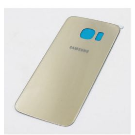 Cache arrière compatible cache batterie Or pour Samsung Galaxy S6 Edge G925F