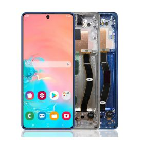 Glass touchscreen and LCD assembled for Samsung Galaxy S10 Lite SM-G770F G770F / DS