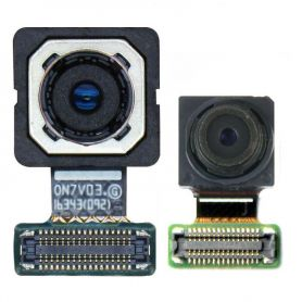 back Rear Camera Flex Cable For Samsung Galaxy J7 Prime On7 G610 G610F J5 Prime On5 G570 G570F Front Camera Face Facing Small