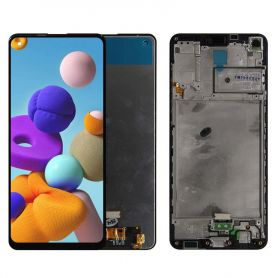 Glass Touch Screen LCD and assembled for Samsung Galaxy A21S A217F A217F / DS