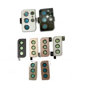 Lentille cache caméra pour Samsung Galaxy S21 5G SM-G991B G991B S21 + S21 Ultra G991 G996 G998