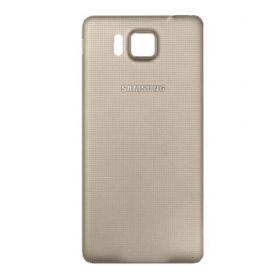 Cache arrière compatible cache batterie Or pour Samsung Galaxy Alpha G850F