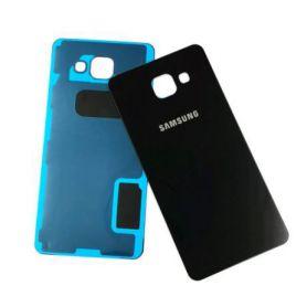 Vitre cache arrière noir pour Samsung Galaxy A5 2016 A510F A510