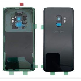 Black rear cover for Samsung Galaxy S9 G960F