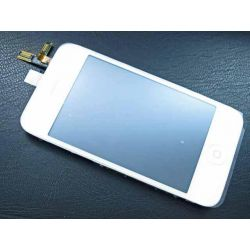 Vitre tactile Iphone 3G blanc