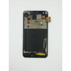 Ecran Lcd & tactile avec chassis Samsung Galaxy S2 GT-I9100 Noir