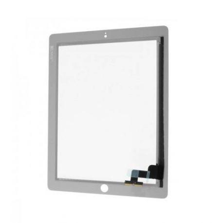 Vitre ecran tactile Apple Ipad 2 blanc
