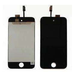 Ecran Lcd et vitre tactile assemblés Apple Ipod 4 touch noir