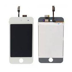 Lcd screen and touchscreen assembled Apple Ipod 4 touch white
