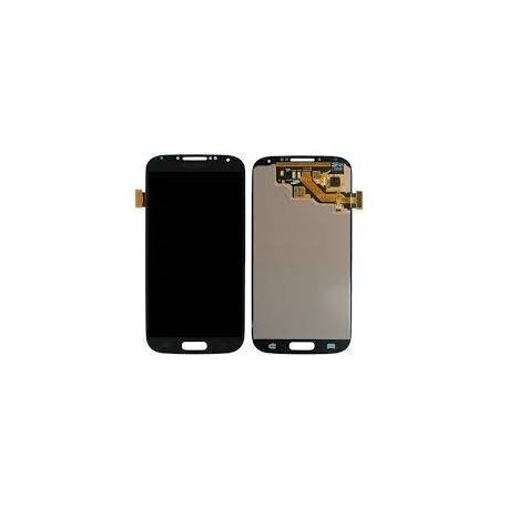 Ecran Lcd vitre tactile assemblés Samsung Galaxy S4 I9500 gris titane